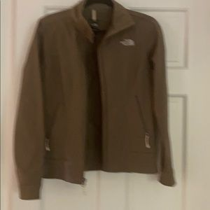 North face tan tnf apex women's jacket